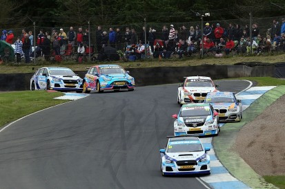 BTCC Knockhill: Jason plato takes victory in his 500th race