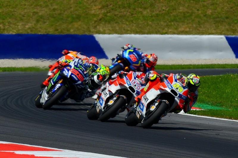 MotoGP Austria: Andrea Iannone takes first win in Ducati 1-2