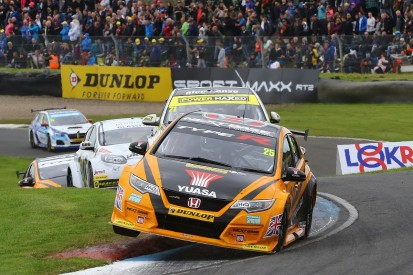 BTCC Knockhill: Matt Neal wins race two to close on points lead