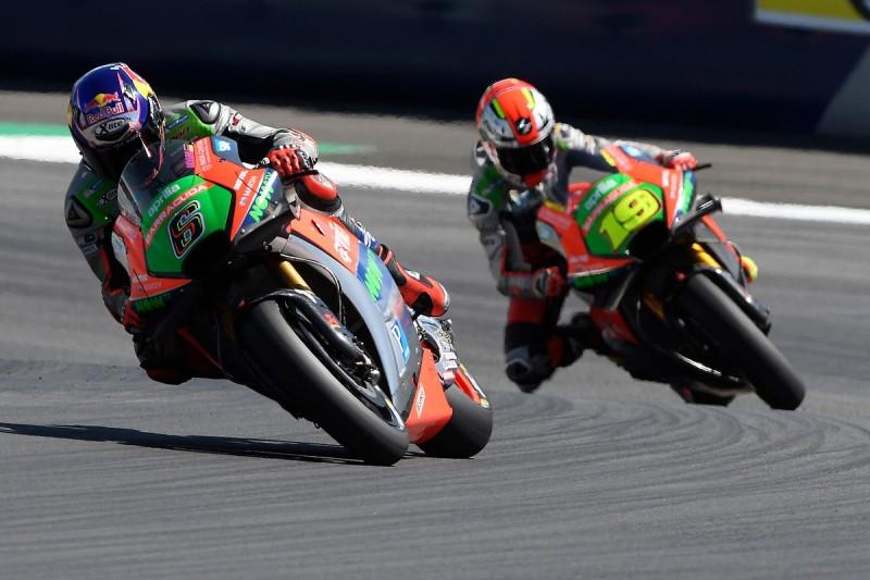 Aprilia bosses hit out at performance of MotoGP team