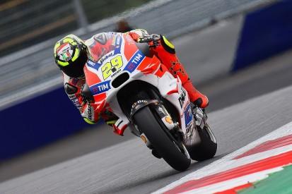 MotoGP Austria: Ducati's Iannone beats Rossi to pole position