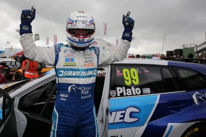 BTCC Knockhill: Jason Plato on pole for his 500th BTCC race