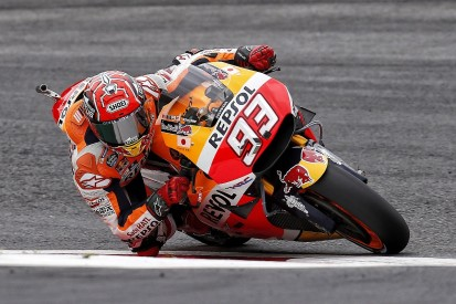 Marc Marquez takes blame for MotoGP crash after near-miss with Pedrosa