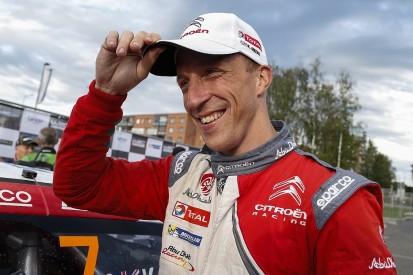 Kris Meeke pushing Citroen for WRC Rally GB entry