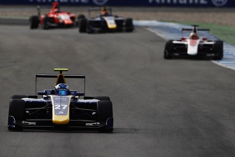 GP3 Hockenheim: Jake Hughes secures DAMS' first win in series