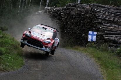 WRC Rally Finland: Kris Meeke takes big lead into final day