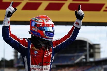 GP3 Hockenheim: Ferrari junior Fuoco pounces to win opening race