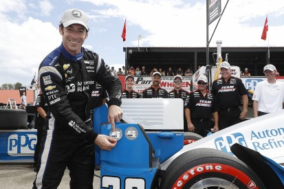 Mid-Ohio IndyCar: Simon Pagenaud leads all-Penske front row