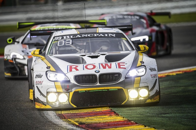 BMW leads Spa 24 Hours into night with Sims, Eng and Martin