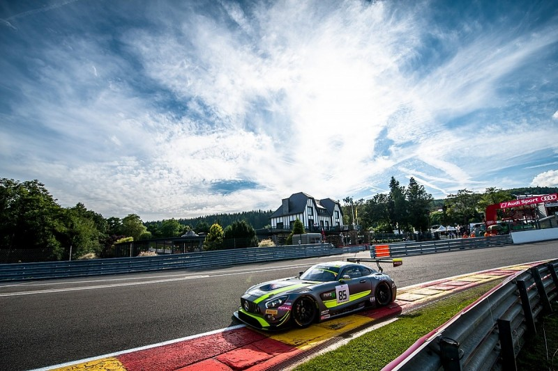 Spa 24 Hours: Top six Mercedes entries handed double penalties