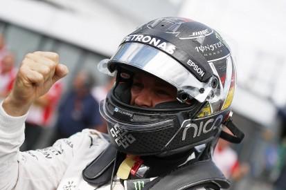 German GP: Nico Rosberg beats Lewis Hamilton to earn home F1 pole
