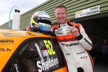 Snetterton BTCC: Honda's Shedden takes first pole in three years