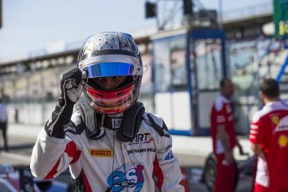GP3 Hockenheim: Albon leads ART team-mate Leclerc to take pole
