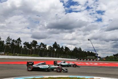 F1 German GP: Rosberg leads Mercedes team-mate Hamilton in FP2
