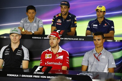 German GP Thursday F1 press conference full transcript
