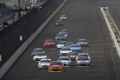 Jeff Gordon 'embarrassing' on restarts in NASCAR return at Indy