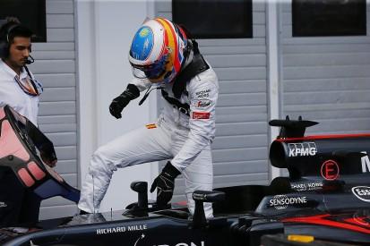 Fernando Alonso kicking himself for Hungarian GP qualifying spin