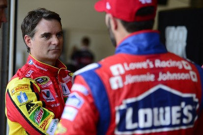 Jimmie Johnson reckons Jeff Gordon could win on NASCAR comeback