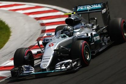 Hungarian GP: Nico Rosberg fends off Max Verstappen in practice