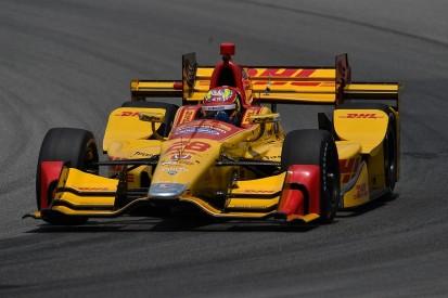 Formula E's Frijns and F3 champ Rosenqvist complete IndyCar tests