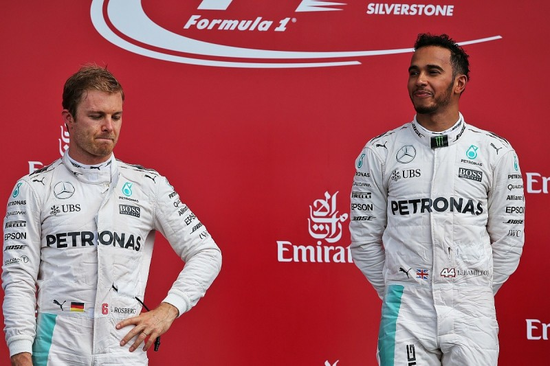 How the F1 pendulum swung from Nico Rosberg to Lewis Hamilton