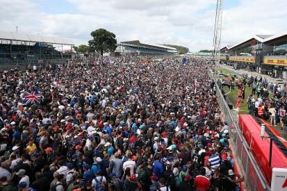 Silverstone plans 25,000 British Grand Prix capacity increase