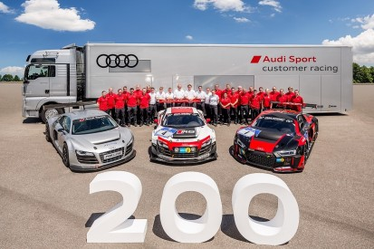 Audi celebrates delivery of 200th R8 LMS GT3 car