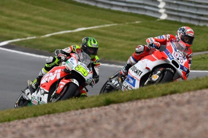 MotoGP Sachsenring: Dovizioso thought he could avoid bike swap