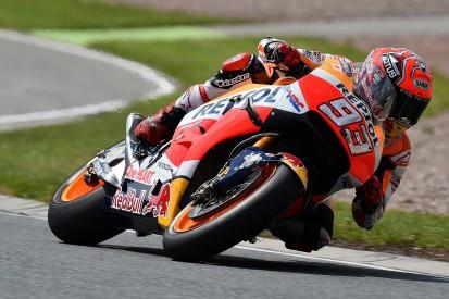 Marc Marquez takes Sachsenring MotoGP pole, Jorge Lorenzo crashes twice
