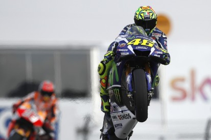 Valentino Rossi 'very lucky' to qualify on MotoGP Germany front row