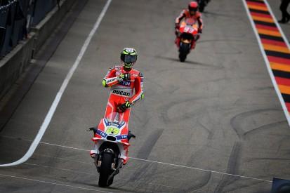 MotoGP Sachsenring: Iannone fastest in FP1, Jorge Lorenzo crashes