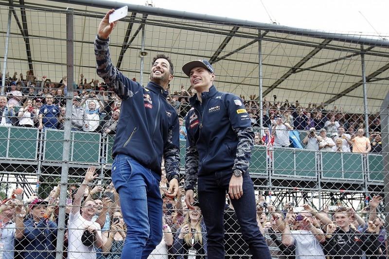 Max Verstappen admits he had to raise his game for Daniel Ricciardo