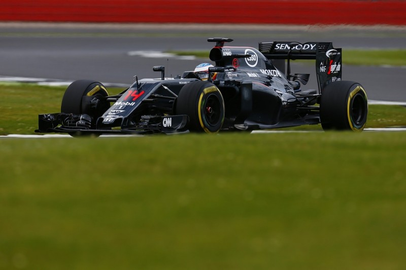 Alonso leads first day of Silverstone test amid bizarre incident