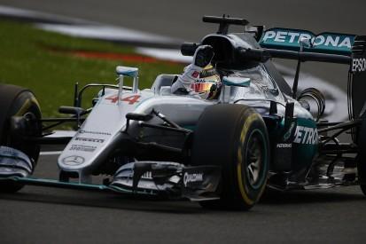 British Grand Prix: Lewis Hamilton tops disrupted final F1 practice