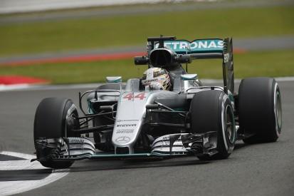 British GP: Hamilton pips Mercedes F1 team-mate Rosberg in FP1