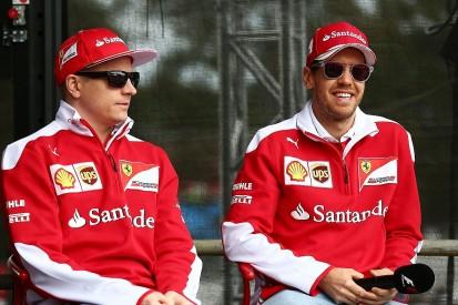 "Raikkonen and I have ""least ego problems"" in F1 - Ferrari's Vettel"