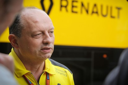 Renault F1 team moves Frederic Vasseur to team principal role