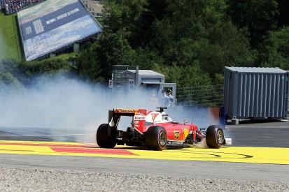 Austrian Grand Prix: Vettel explains 'surprise' spin in F1 practice