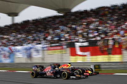 Toro Rosso's Sainz looking to 'force' F1 opportunity with Red Bull