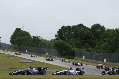 Top three Indy Lights drivers put on probation after Road America