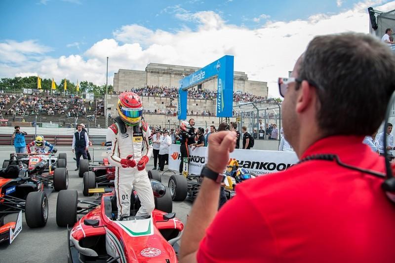 Norisring European F3: Lance Stroll wins stop-start race three