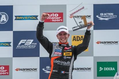 Norisring European F3: Hubert resists Stroll for first win