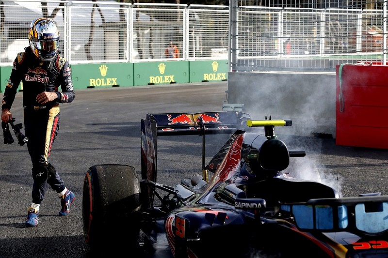 Toro Rosso suspects dampers caused double Baku GP retirement