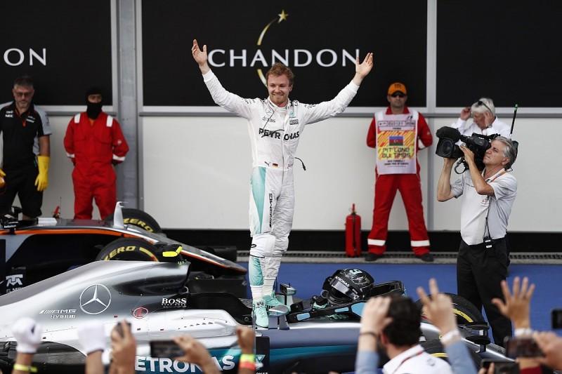 Nico Rosberg rebuilds Formula 1 points lead with dominant Baku win