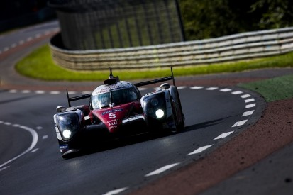 #5 Toyota leads Porsche in Le Mans 24 Hours with two hours to go