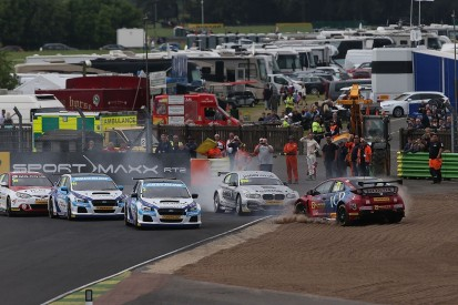Croft BTCC: Colin Turkington leads Jason Plato in Subaru one-two