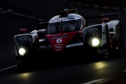 Toyota leads Le Mans 24 Hours at halfway mark
