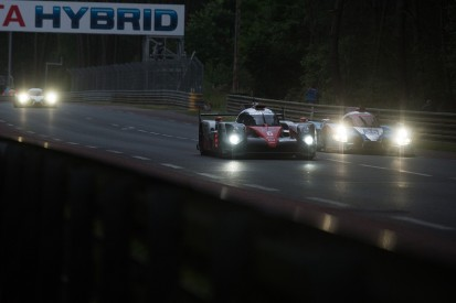 Le Mans 24 Hours: Toyota leads, Porsches swap places in eighth hour