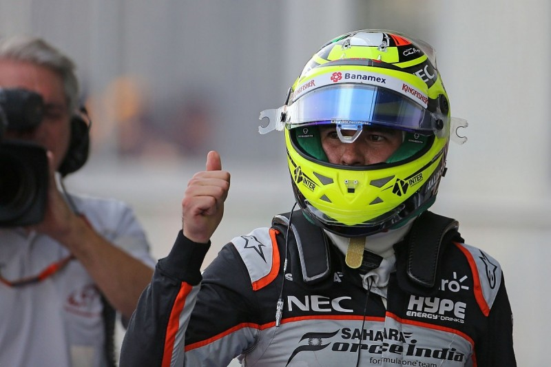 Sergio Perez angry at himself over lost Baku F1 front row