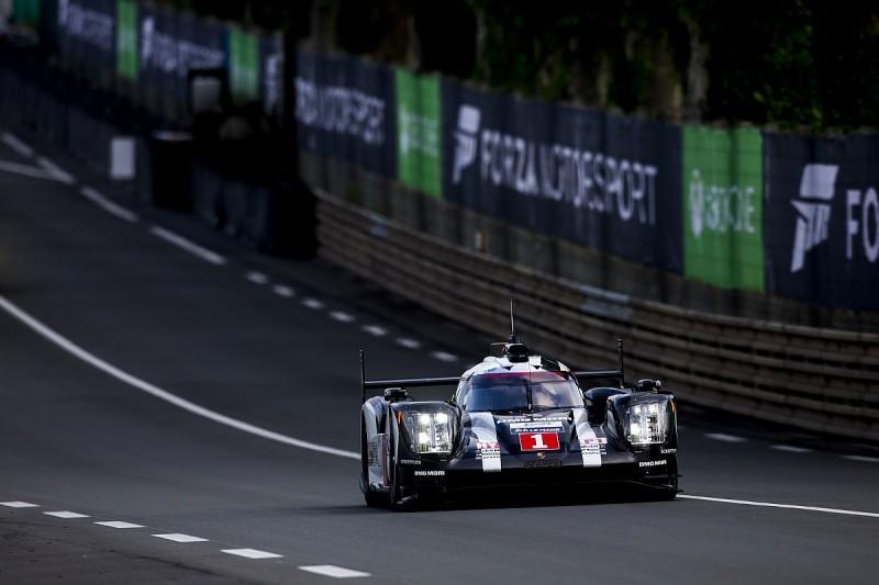 Brendon Hartley puts #1 Porsche into lead of Le Mans 24 Hours